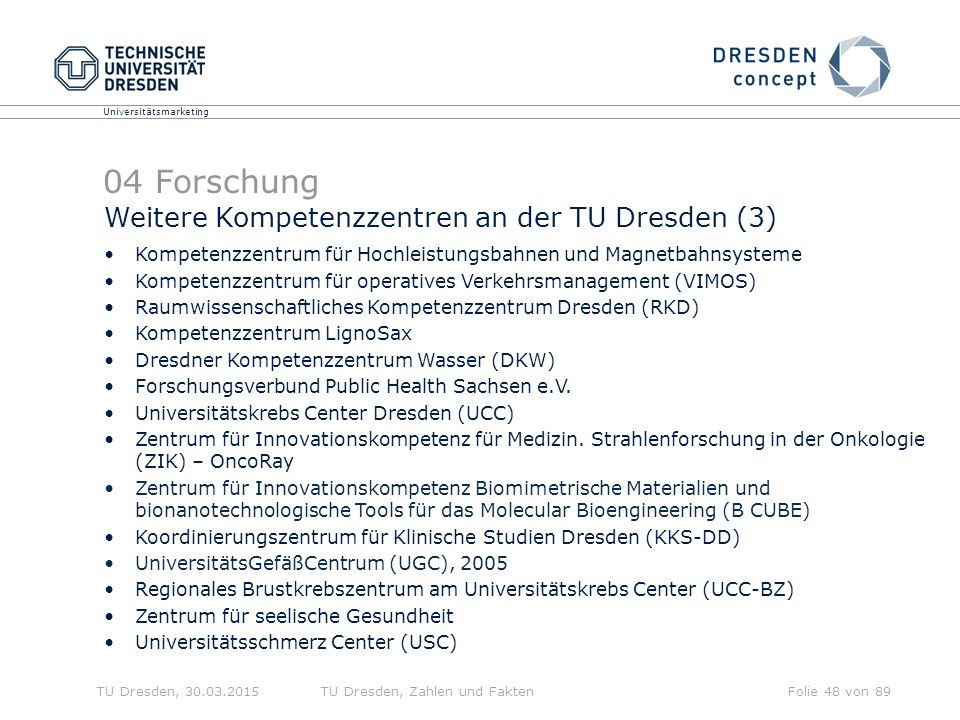 04 Forschung Weitere Kompetenzzentren an der TU Dresden (3)