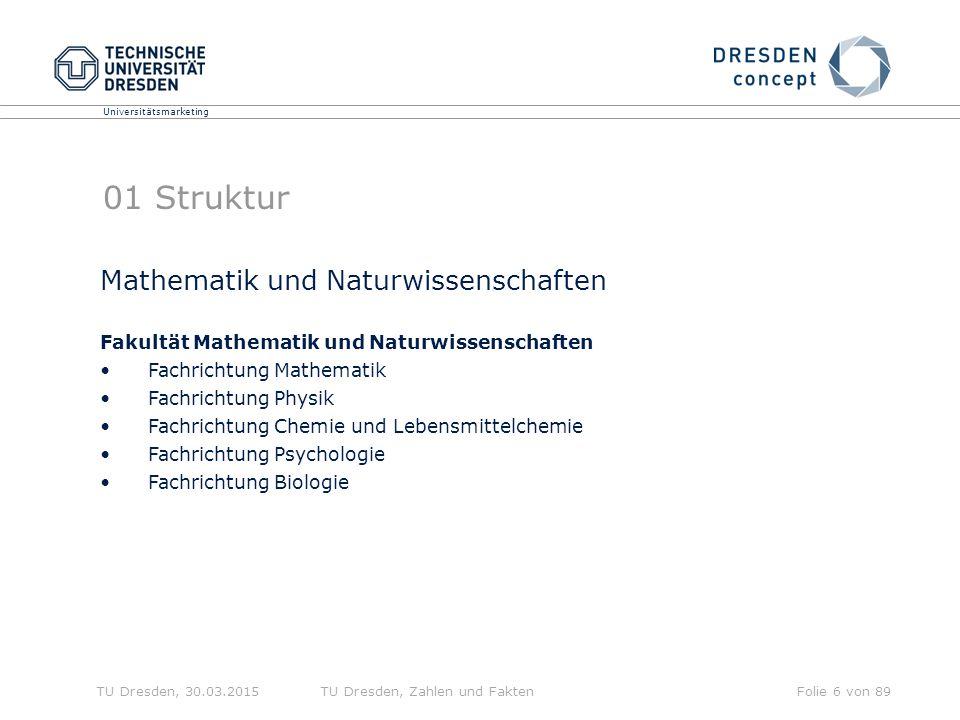 01 Struktur Mathematik und Naturwissenschaften