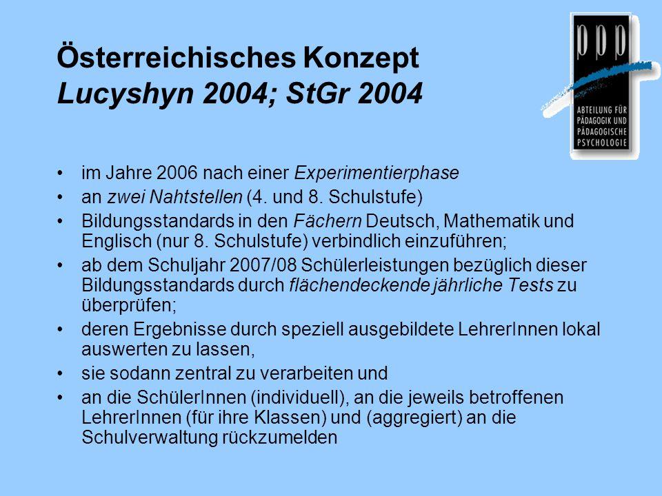 Österreichisches Konzept Lucyshyn 2004; StGr 2004