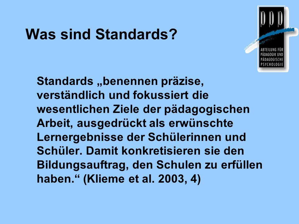 Was sind Standards