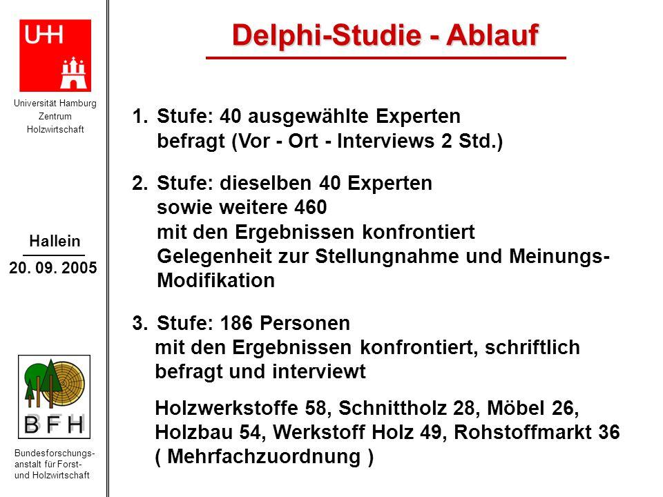 Delphi-Studie - Ablauf
