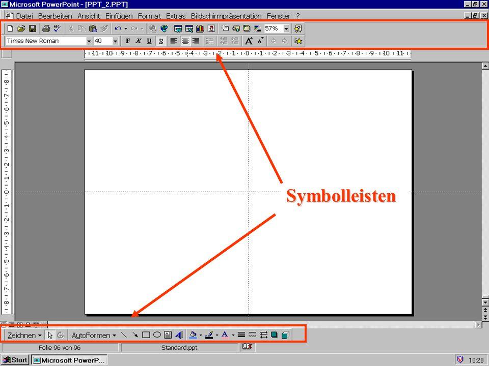 Symbolleisten