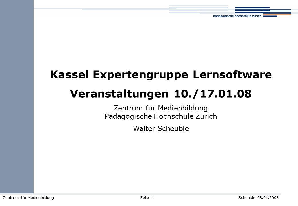 Kassel Expertengruppe Lernsoftware