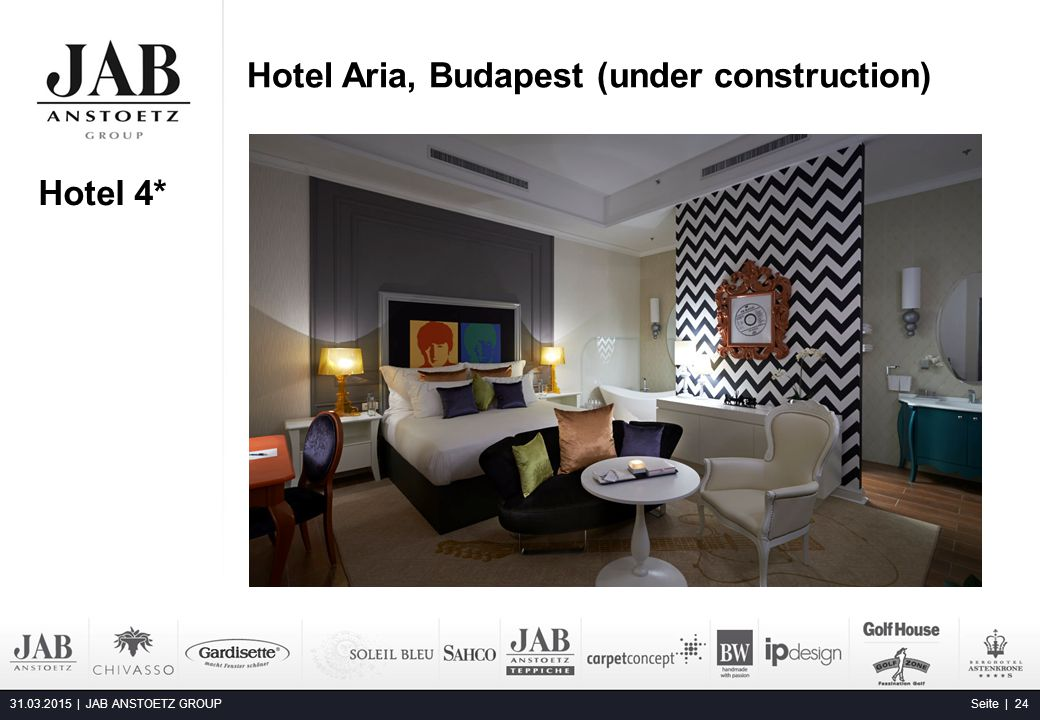 Hotel Aria, Budapest (under construction)