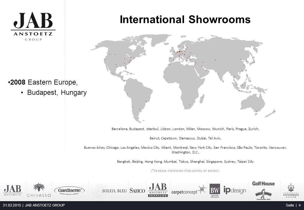 International Showrooms