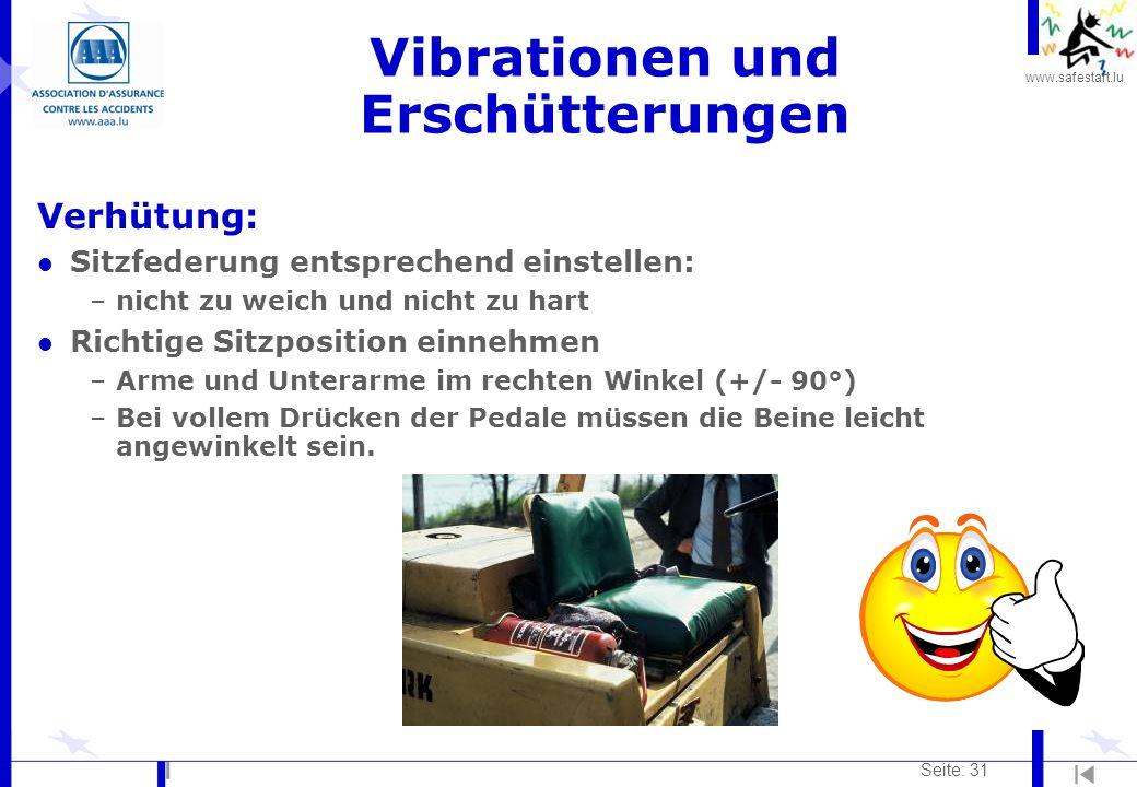 Vibrationen und Erschütterungen