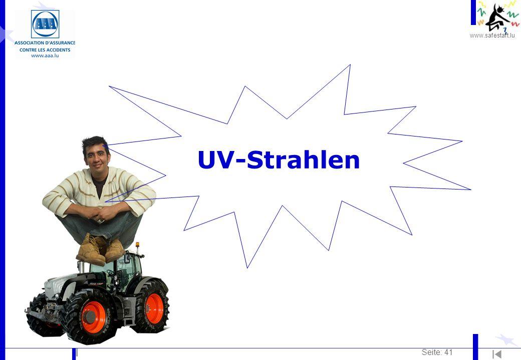 UV-Strahlen Seite: 41