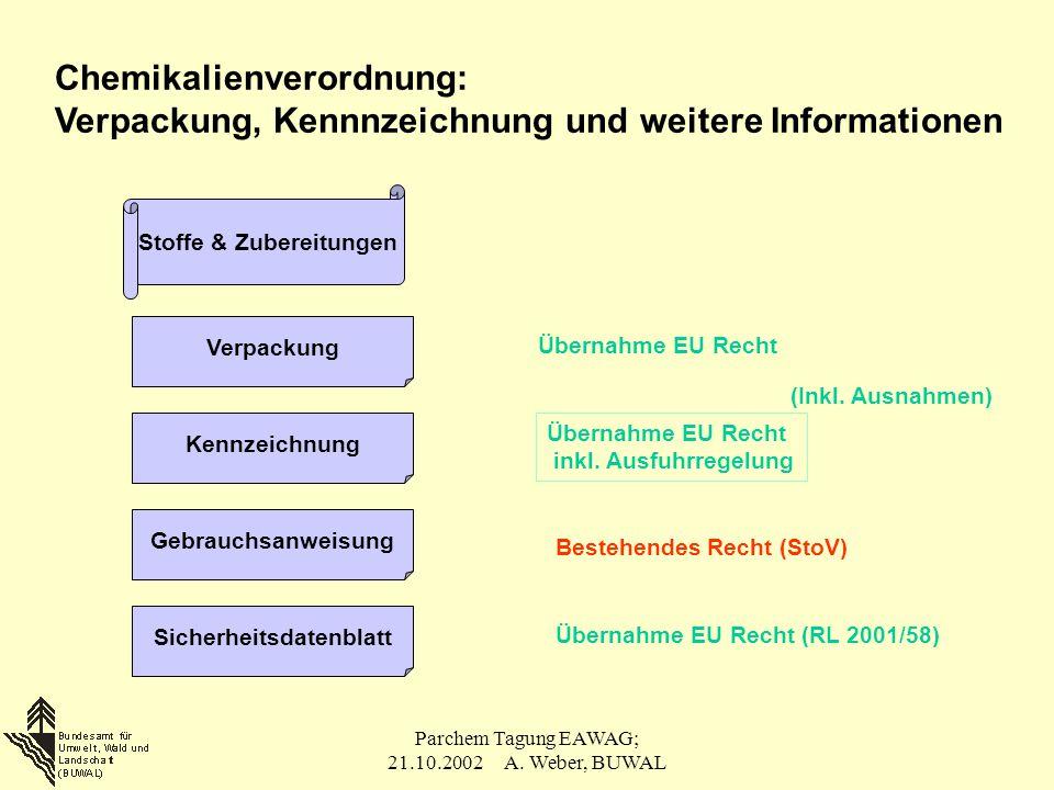 Stoffe & Zubereitungen Sicherheitsdatenblatt