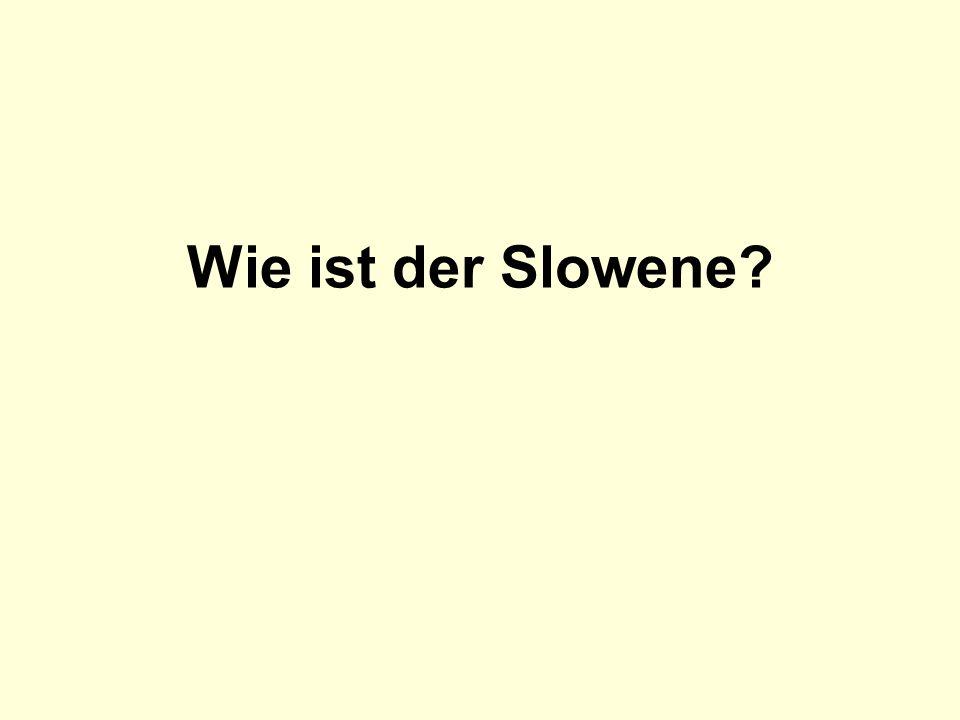 Wie ist der Slowene