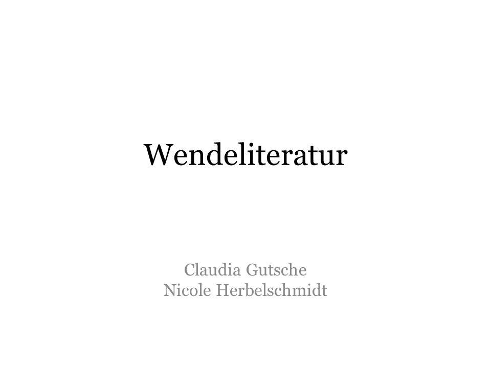Claudia Gutsche Nicole Herbelschmidt