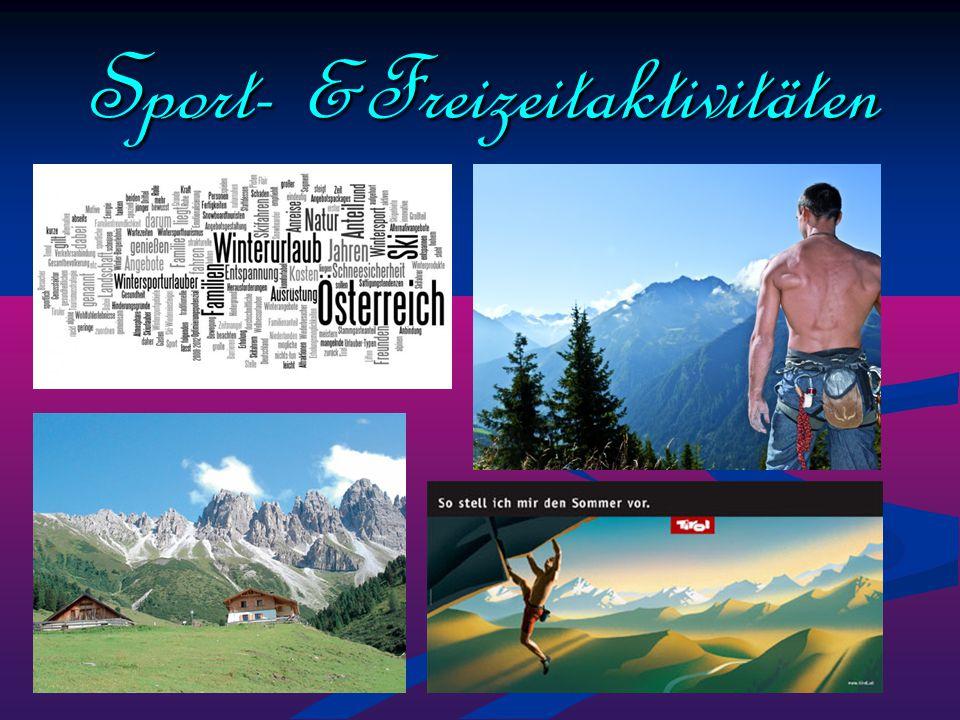 Sport- &Freizeitaktivitäten