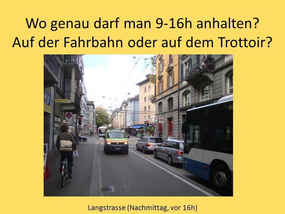 Langstrasse (Nachmittag, vor 16h)