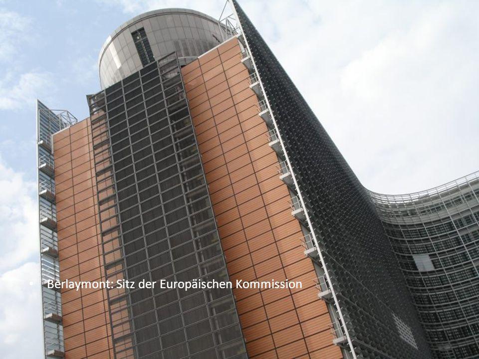 Berlaymont: Sitz der Europäischen Kommission