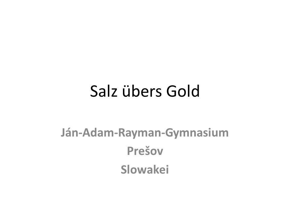 Ján-Adam-Rayman-Gymnasium Prešov Slowakei