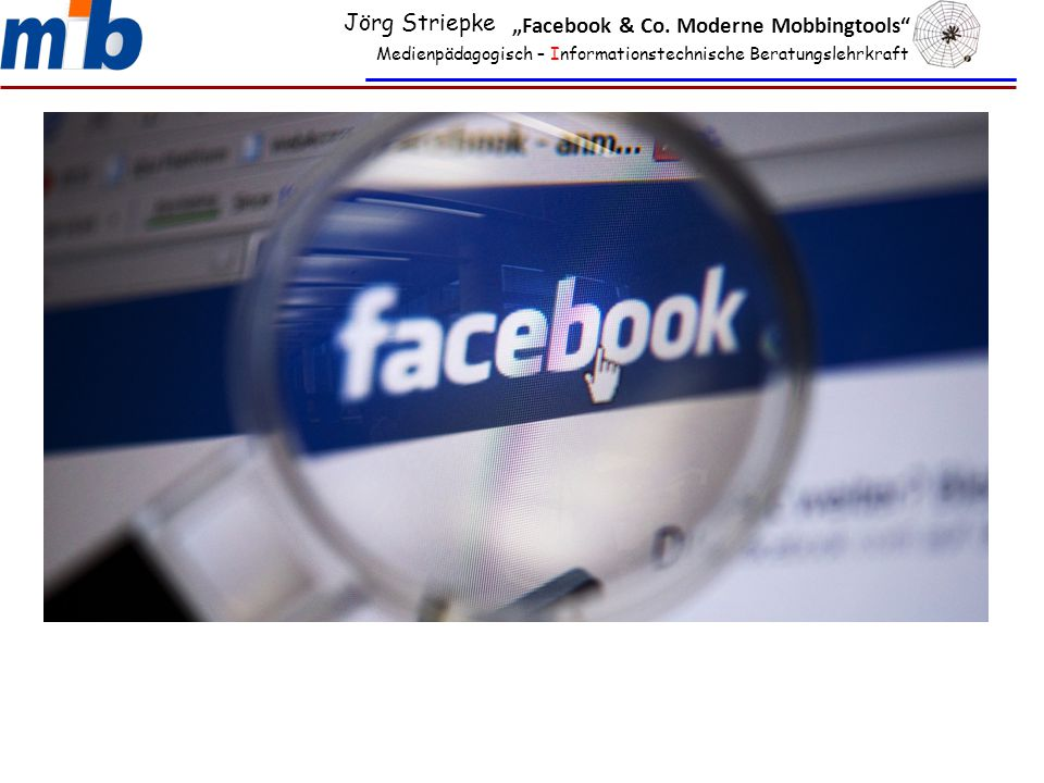 """Facebook & Co. Moderne Mobbingtools"