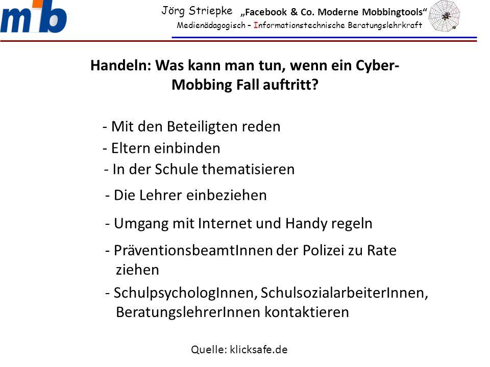 Handeln: Was kann man tun, wenn ein Cyber-