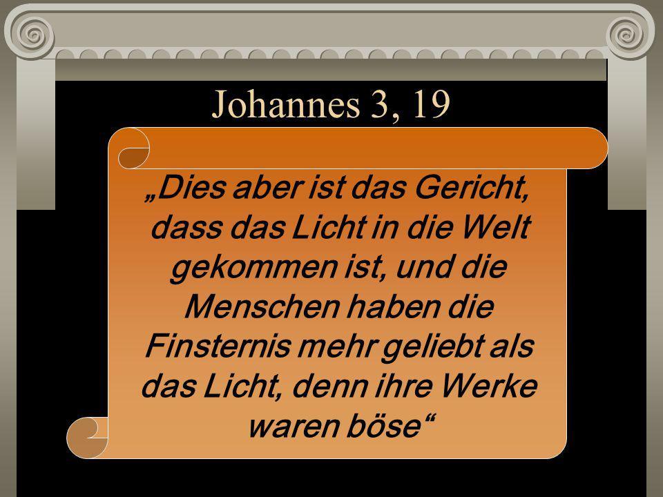 Johannes 3, 19