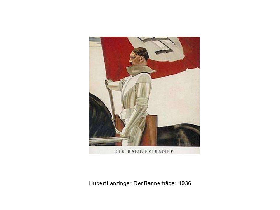 Hubert Lanzinger, Der Bannerträger, 1936