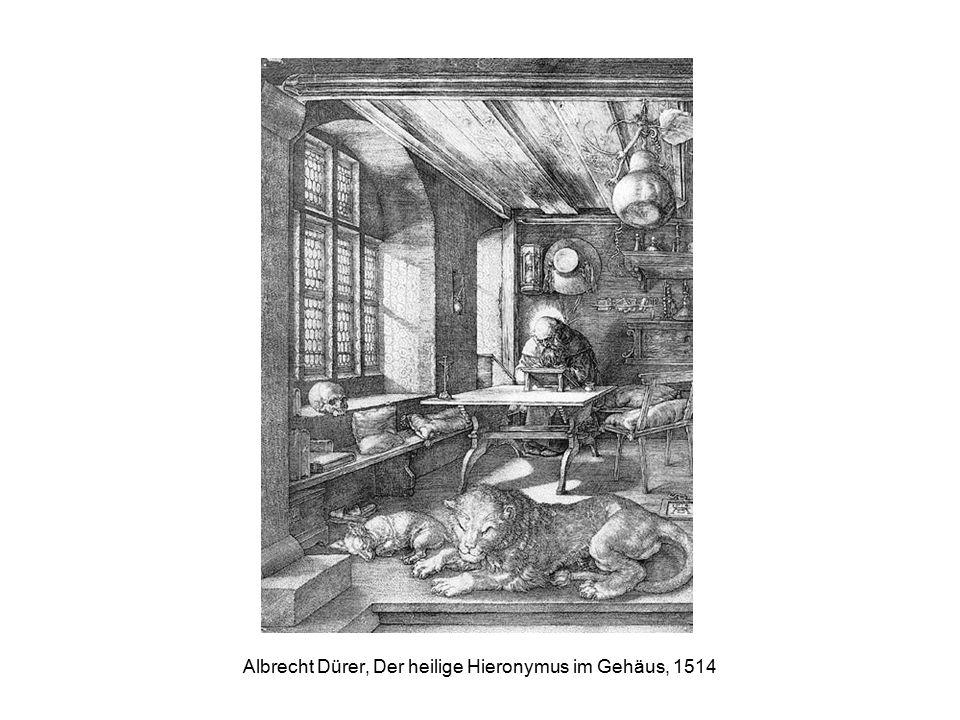 Albrecht Dürer, Der heilige Hieronymus im Gehäus, 1514