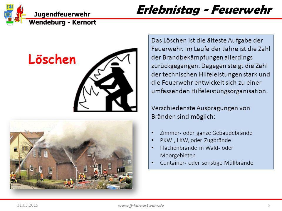 Erlebnistag - Feuerwehr