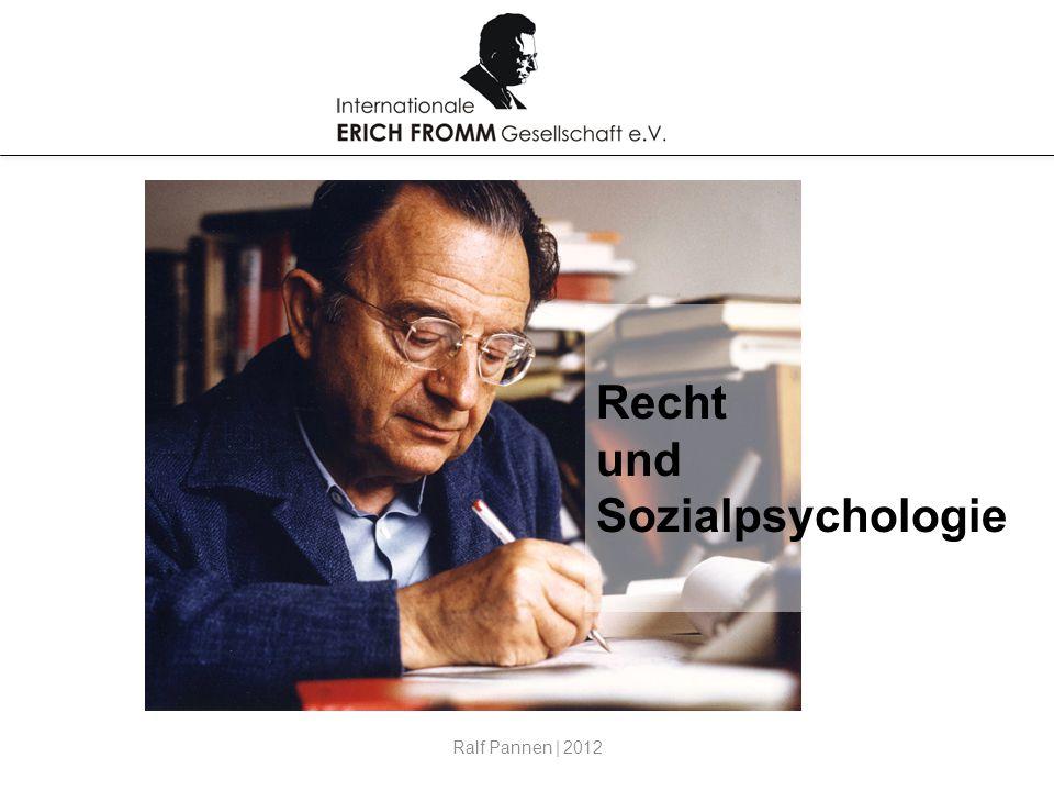 Recht und Sozialpsychologie