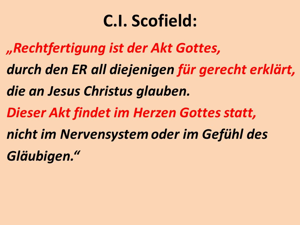 C.I. Scofield: