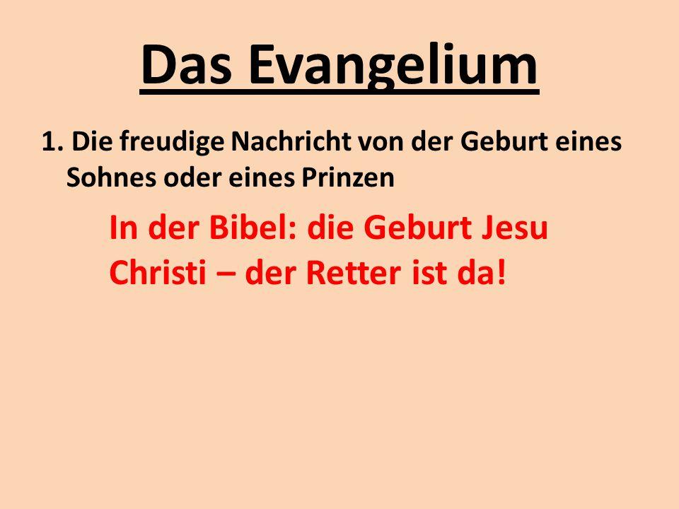 Das Evangelium 1.