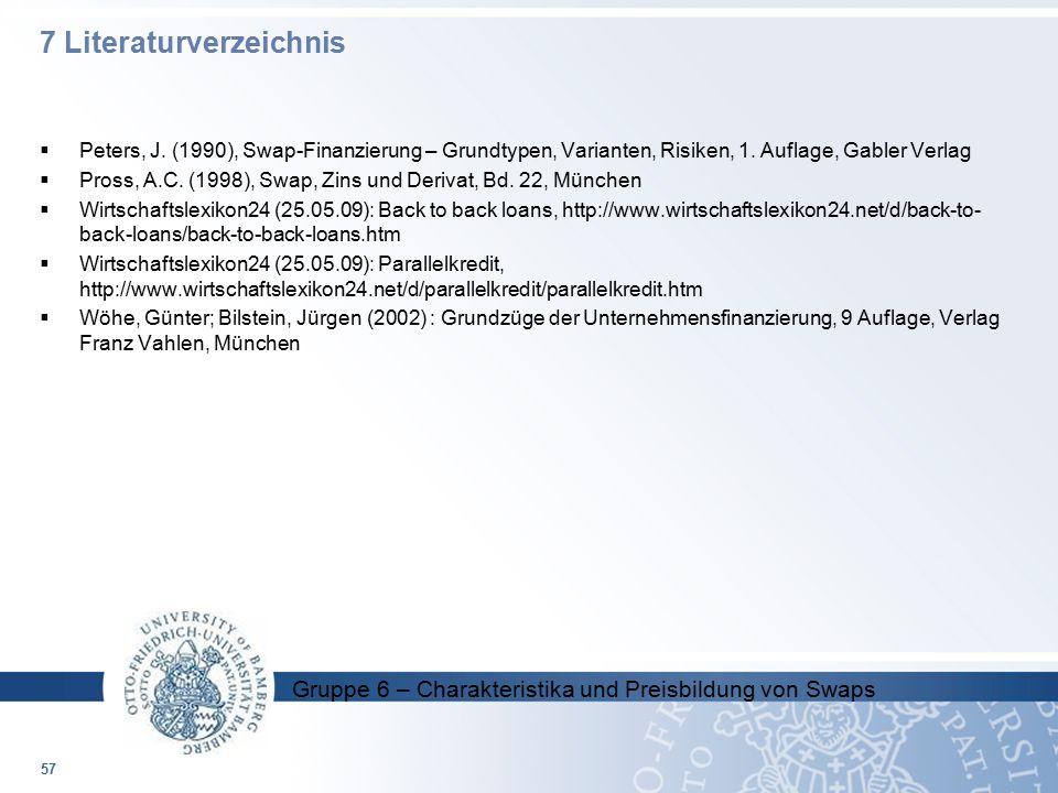 7 Literaturverzeichnis