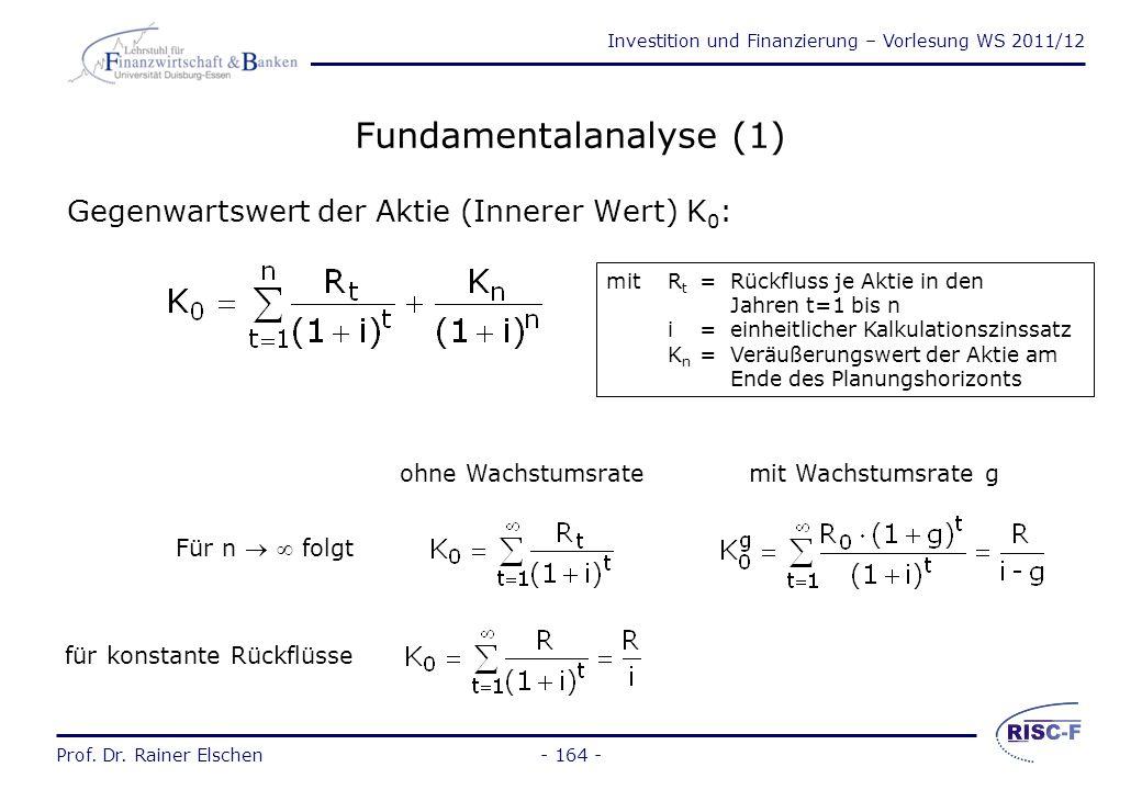 Fundamentalanalyse (1)