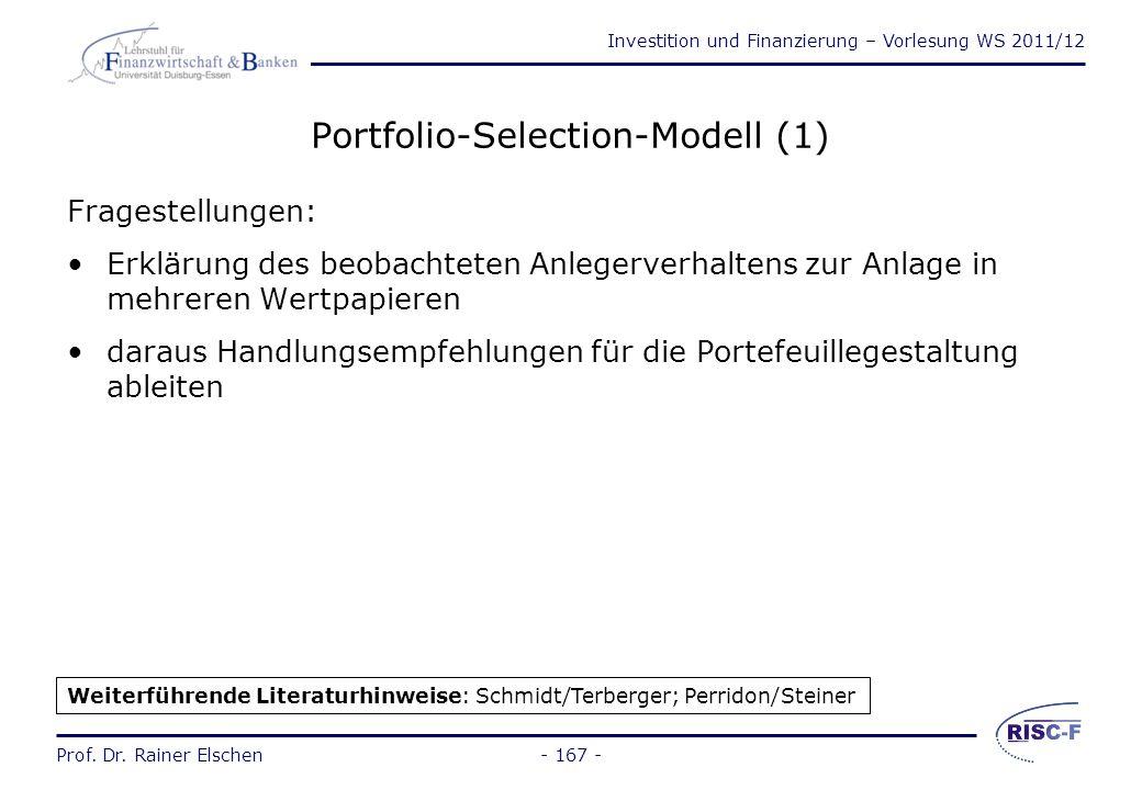 Portfolio-Selection-Modell (1)