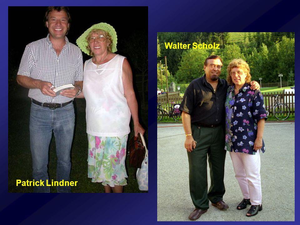 Walter Scholz Patrick Lindner