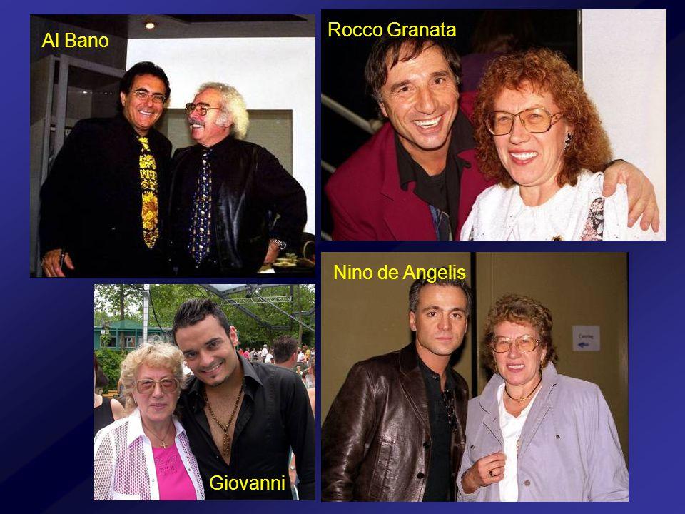Rocco Granata Al Bano Nino de Angelis Giovanni