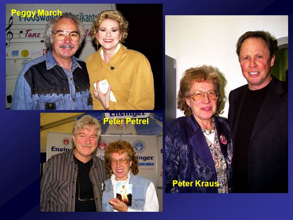 Peggy March Peter Petrel Peter Kraus
