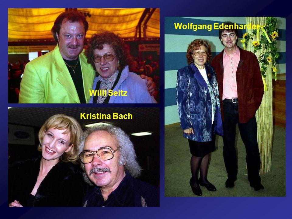 Wolfgang Edenharder Willi Seitz Kristina Bach