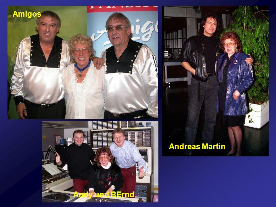 Amigos Andreas Martin Andy und BErnd