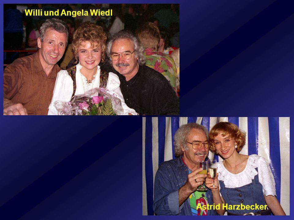 Willi und Angela Wiedl Astrid Harzbecker