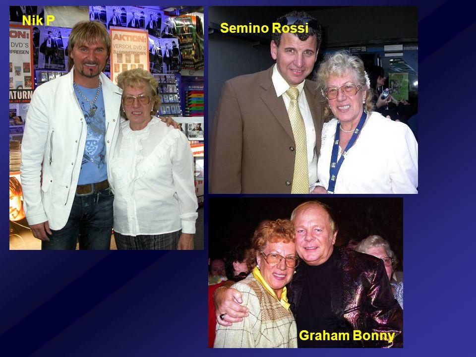 Nik P Semino Rossi Graham Bonny