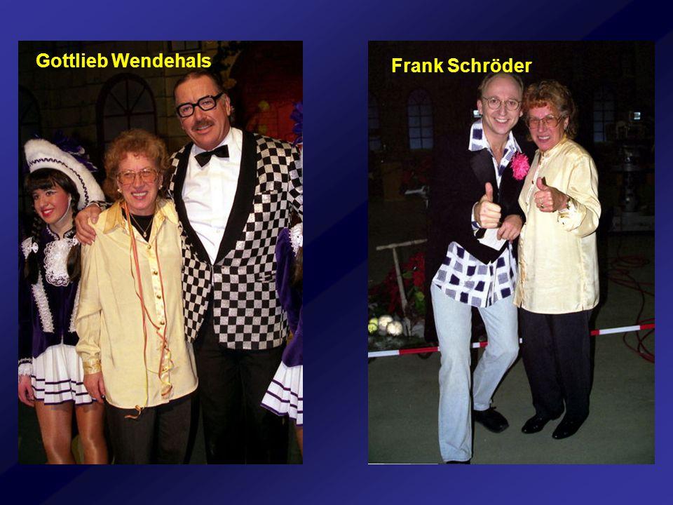Gottlieb Wendehals Frank Schröder