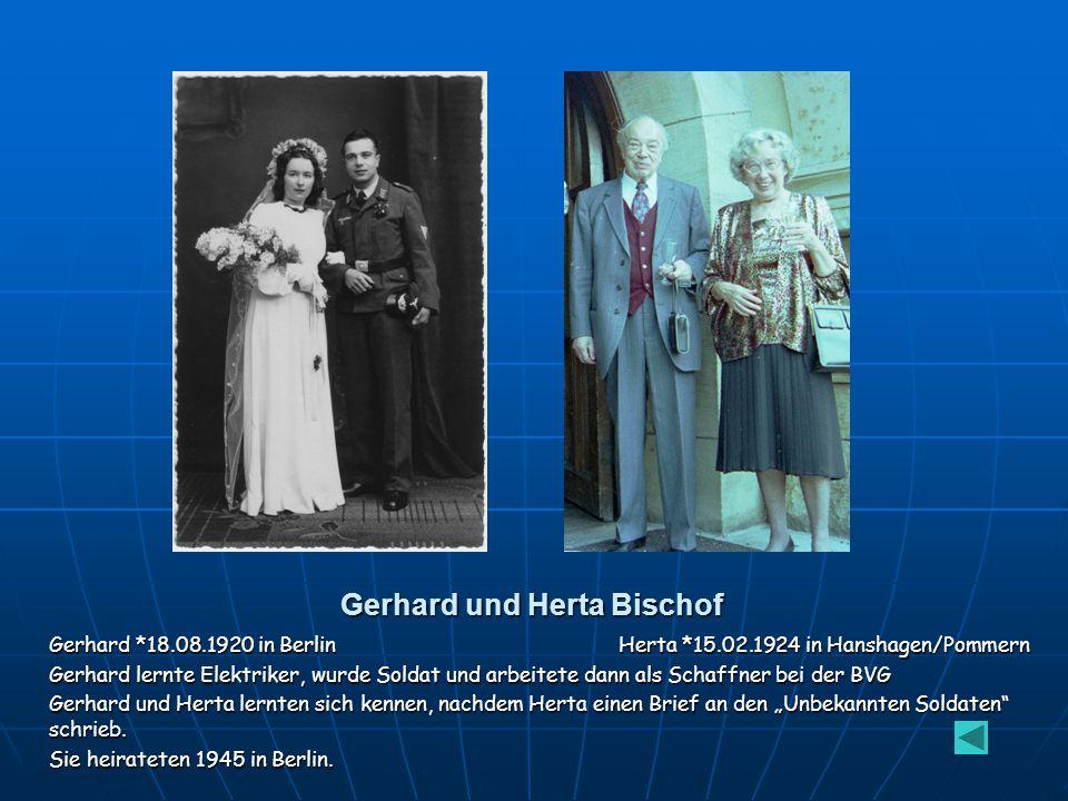 Gerhard und Herta Bischof