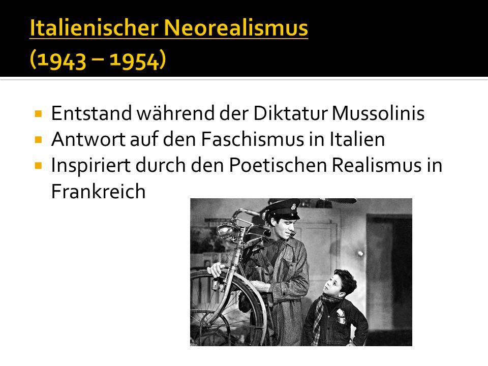 Italienischer Neorealismus (1943 – 1954)