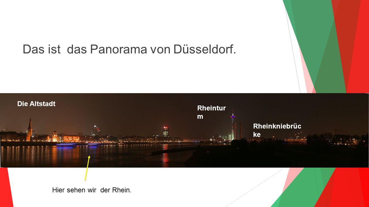 Hier sehen wir der Rhein.