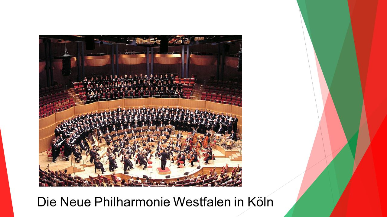 Die Neue Philharmonie Westfalen in Köln