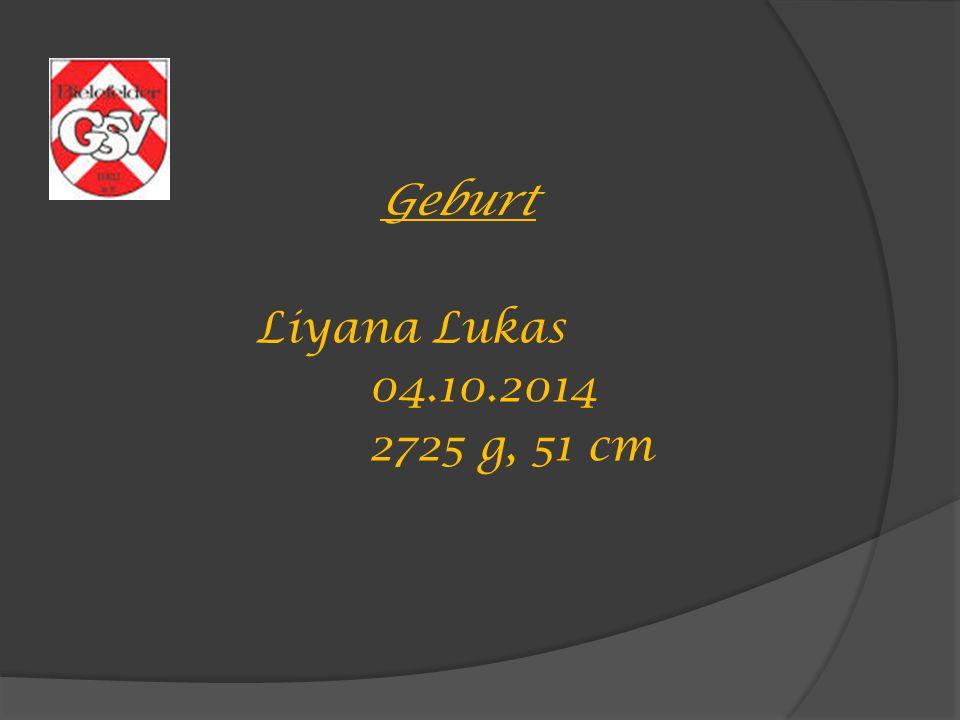 Geburt Liyana Lukas 04.10.2014 2725 g, 51 cm