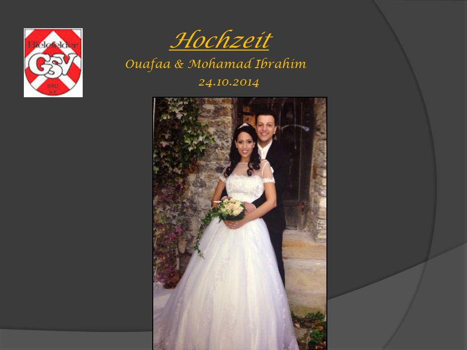 Ouafaa & Mohamad Ibrahim