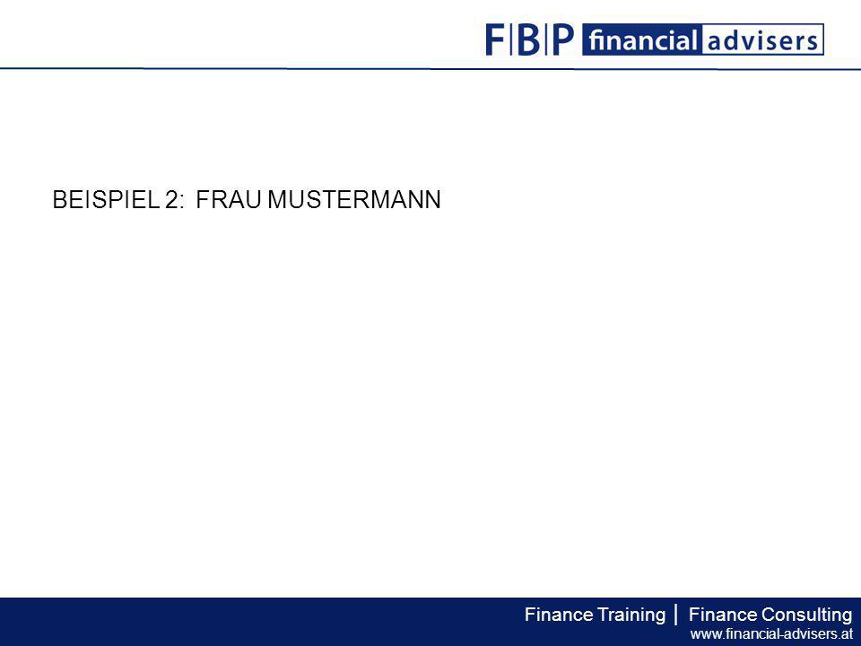 BEISPIEL 2: FRAU MUSTERMANN