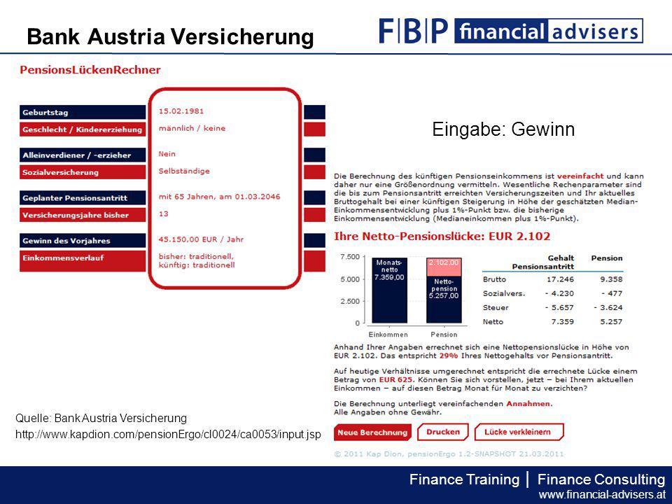 Bank Austria Versicherung