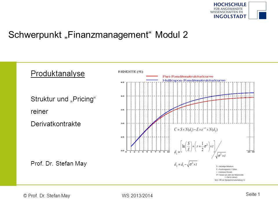 """Schwerpunkt """"Finanzmanagement Modul 2"""