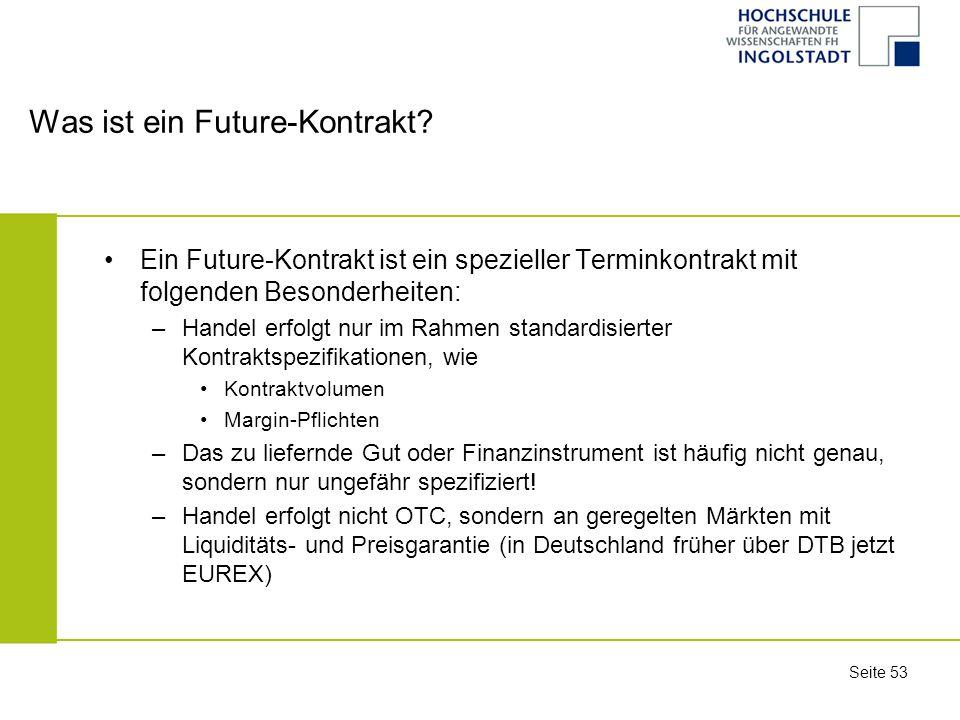 Was ist ein Future-Kontrakt