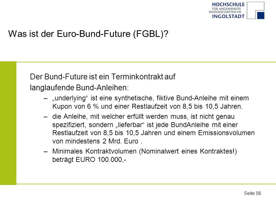 Was ist der Euro-Bund-Future (FGBL)