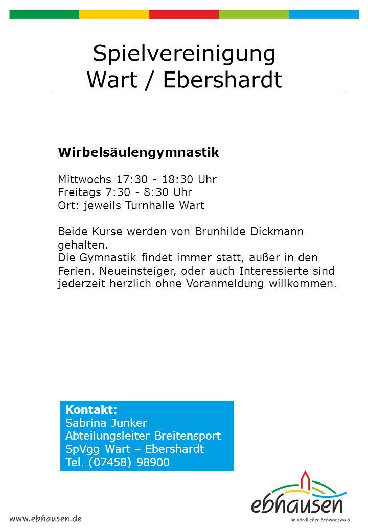 Spielvereinigung Wart / Ebershardt